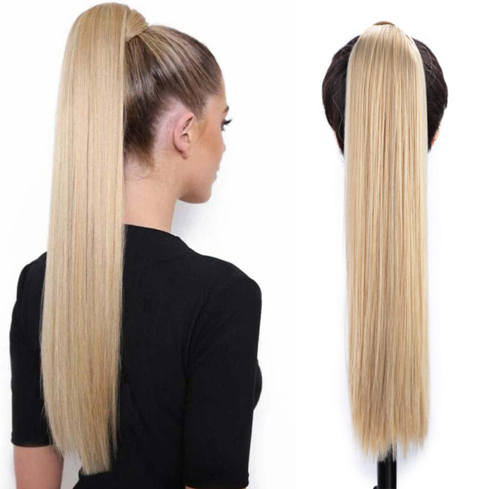 Pony Tail Hair Extension Synthetic Hair