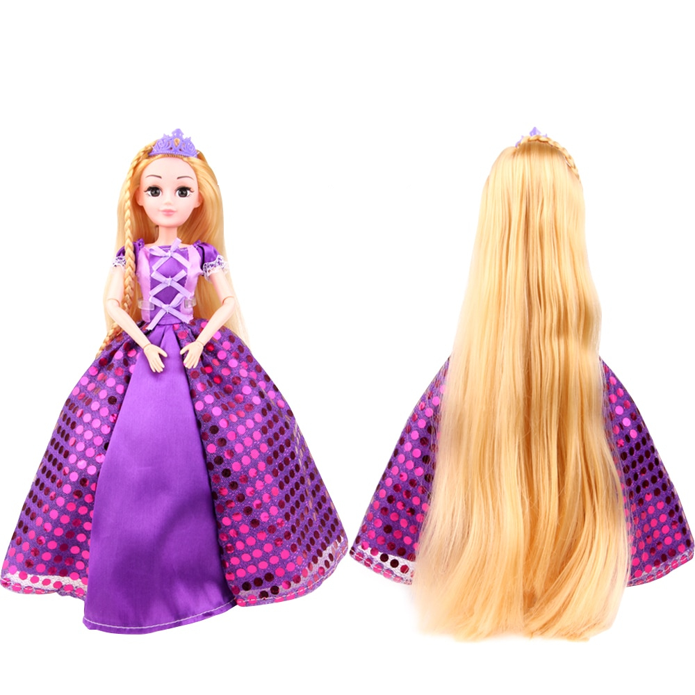 4pcs Wig Comb Cute Doll Accessories Fit For 18/'/' American Girl Purple Hair Pick