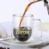 Double Wall Glass Mug Coffee Cup