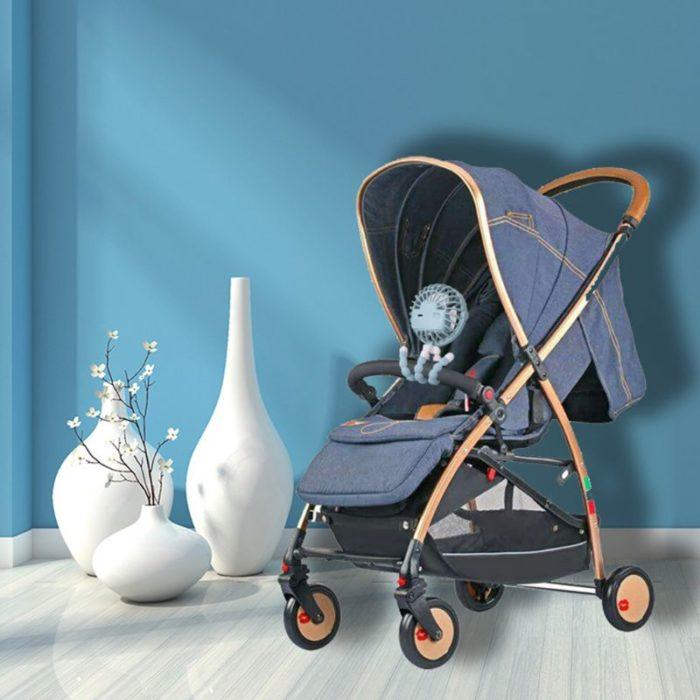 Rechargeable Baby Stroller Fan