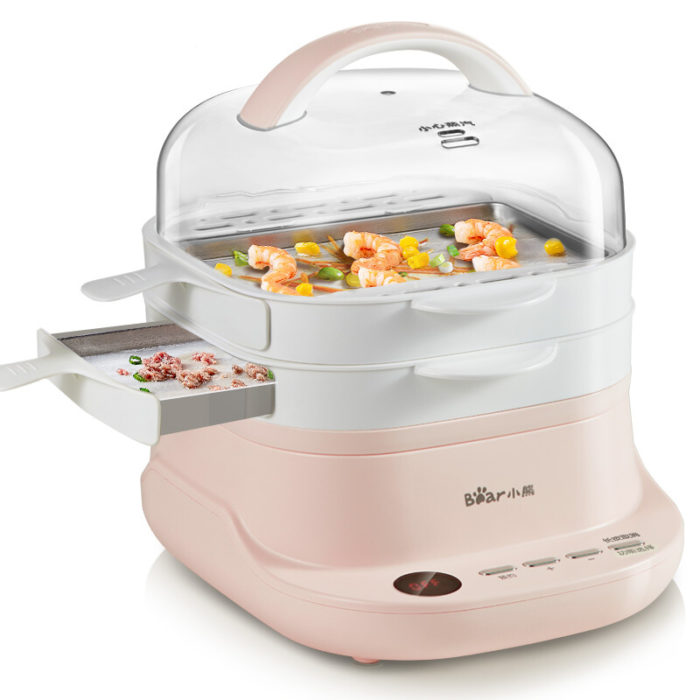 Electric Steam Cooker Food Steamer