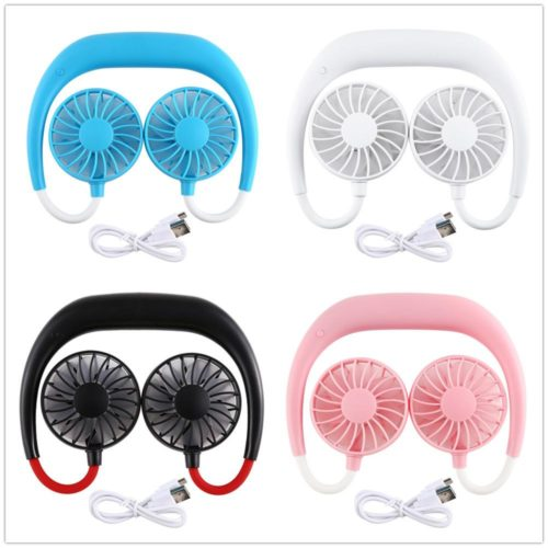 Neckband Fan Portable Dual Cooler
