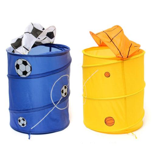 Pop Up Laundry Basket Ball Design