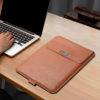 Leather Laptop Case with Stand
