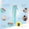 Baby Hair Trimmer Rechargeable Clipper