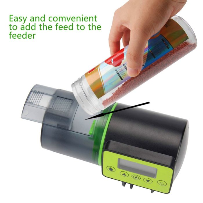 Vacation Fish Feeder Automatic Dispenser