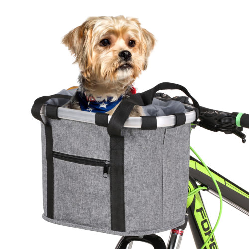Bicycle Dog Carrier Bike Pet Basket