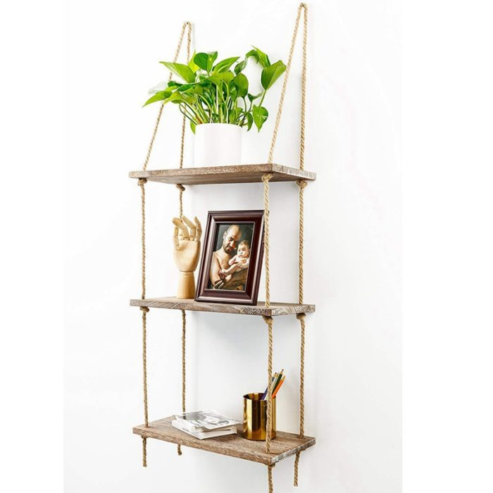 Rope Shelf Multi-Layer Rack