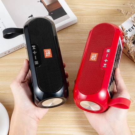 Portable Solar Bluetooth Speaker