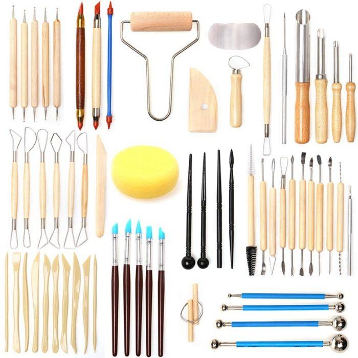 Pottery Tool DIY Set (61pcs)