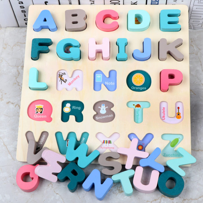 Abc Puzzle Wooden Educational Toys