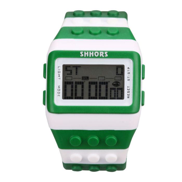 Wrist Bricks Watch Digital Display