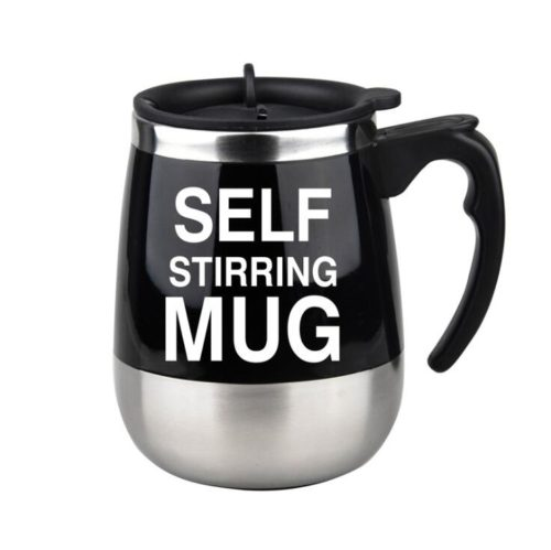 Self-Stirring Coffee Mug Thermal Cup