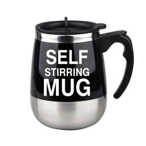 Self-Stirring Coffee Mug Thermal Cup