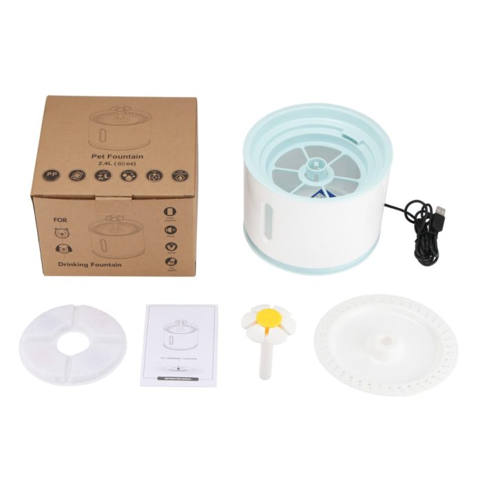 Dog Water Fountain Bowl For Pets