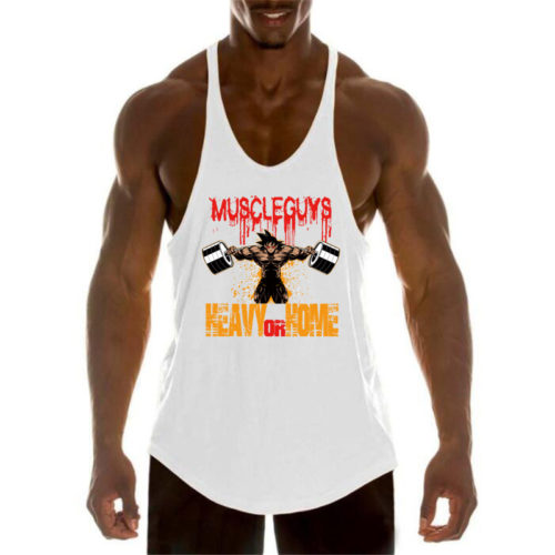Bodybuilding Tank Top Stringer Gym Top