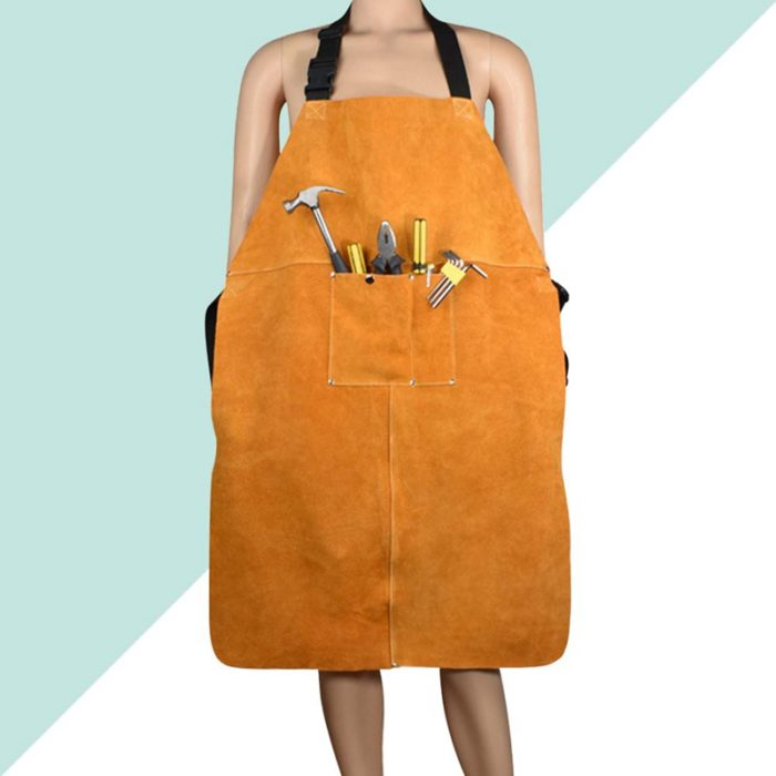 Leather Welding Apron Protective Clothing
