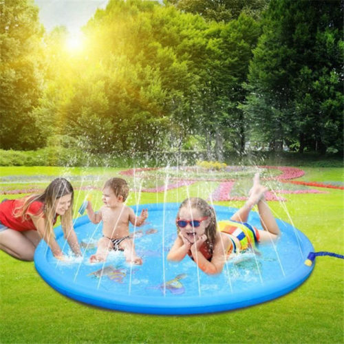 Sprinkler Mat Kids Outdoor Water Mat