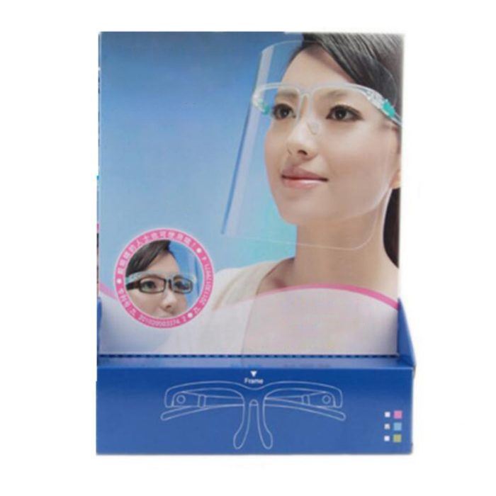 Face Shield Glasses Protective Cover