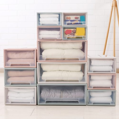 Stackable Storage Drawer Organizer