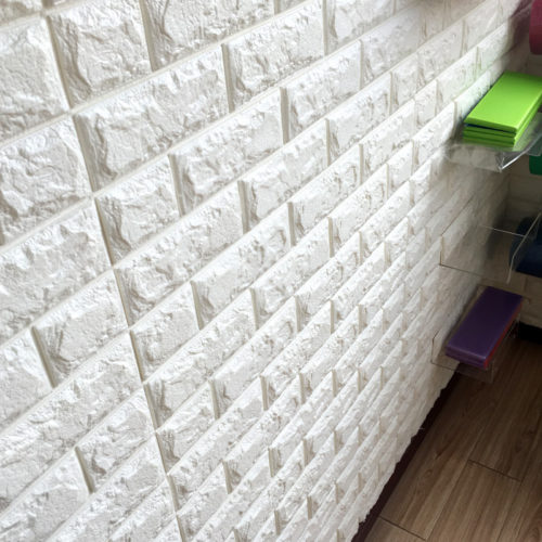 Brick Wall Sticker 3D Foam Wallpaper