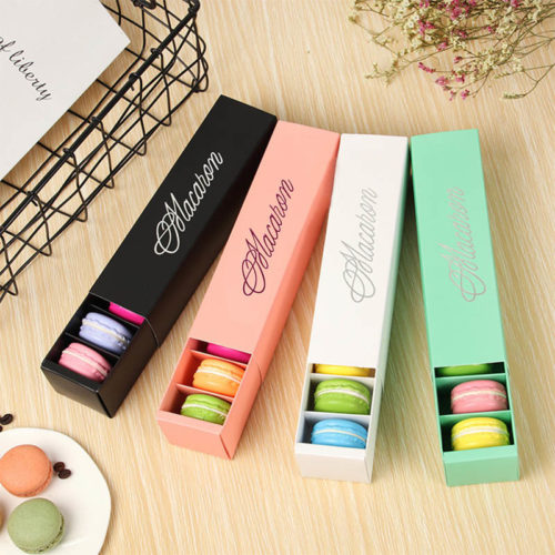 Macaron Box Packaging Paper Box