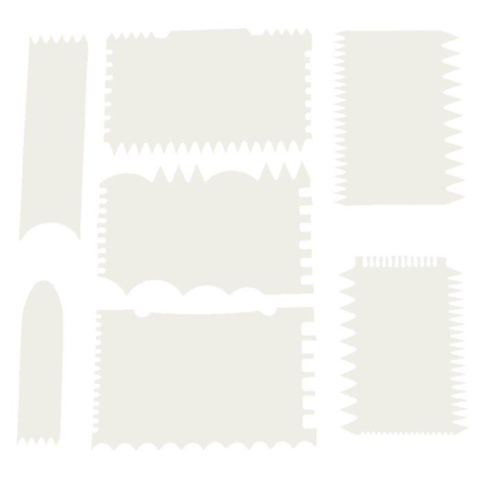 Cake Comb Cake Decorating Set (7pcs)
