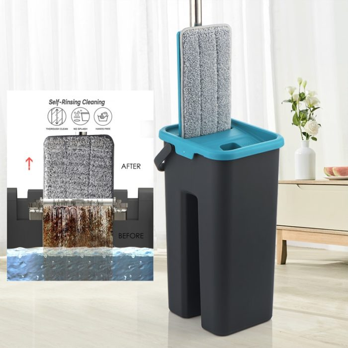 Flat Mop Microfiber Floor Cleaner