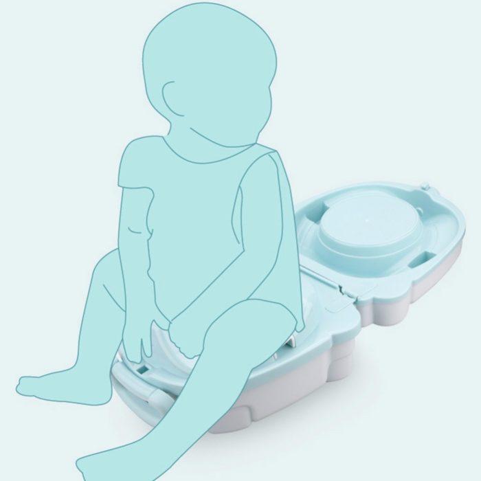 Travel Potty Kids Portable Toilet