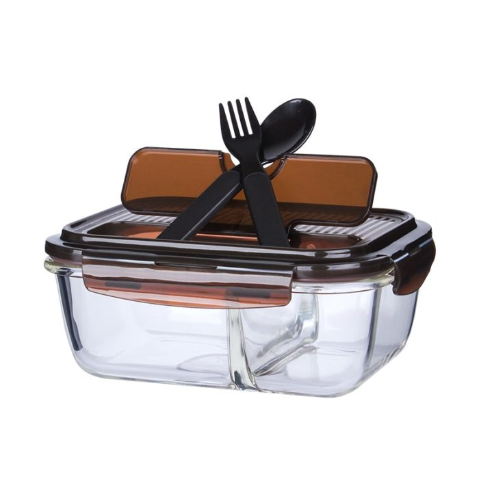 Glass Bento Box Food Container