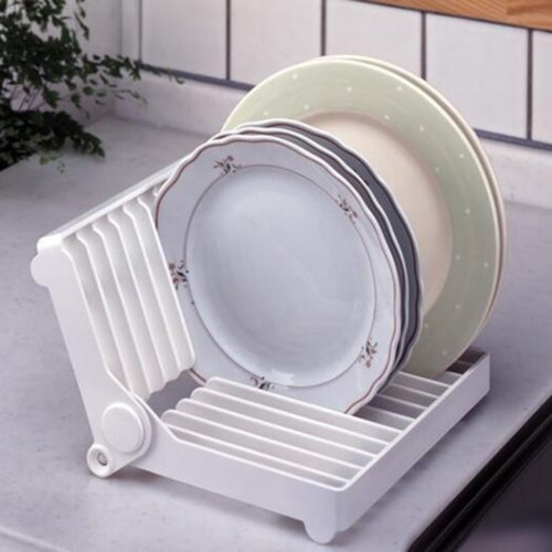 Folding Dish Rack Home Organizer