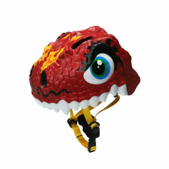 Childrens Bike Helmet Dino Design