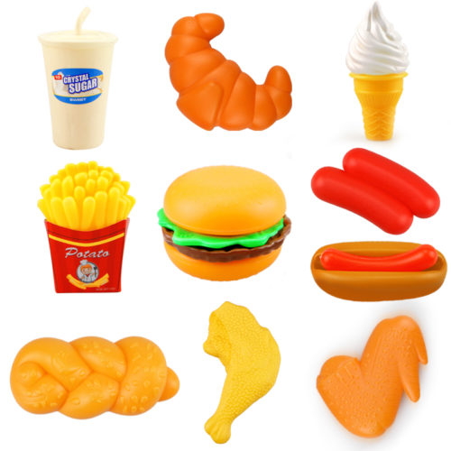 Kid's Play Food Pretend Toy Set
