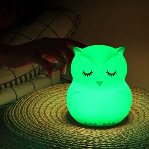 Owl Night Light Battery-Powered LED Light