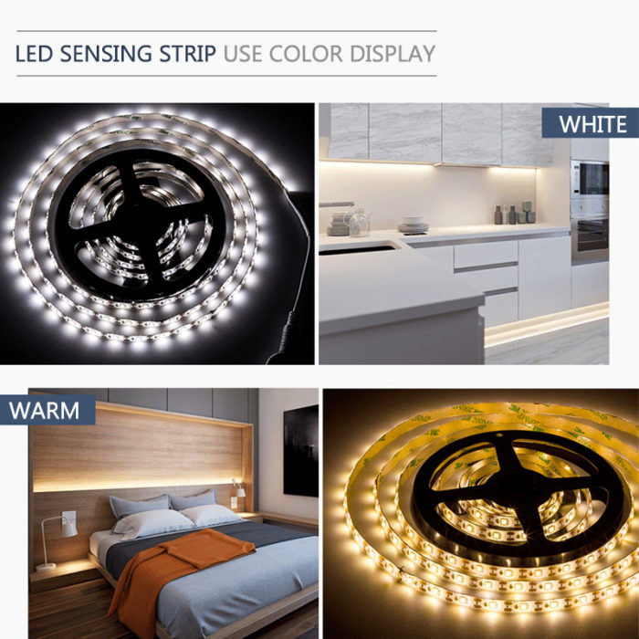 Motion Sensor Battery Powered LED Strip