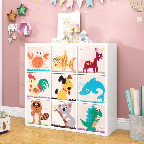 Kids Storage Bin Foldable Storage Box