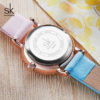 Ladies Two Tone Watch Cute Wristwatch