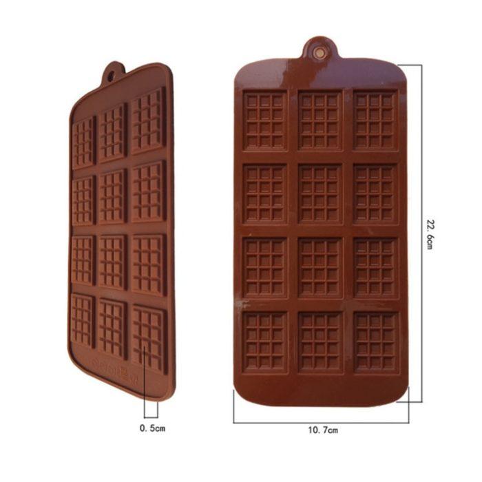 Silicone Chocolate Mold Reusable Mold