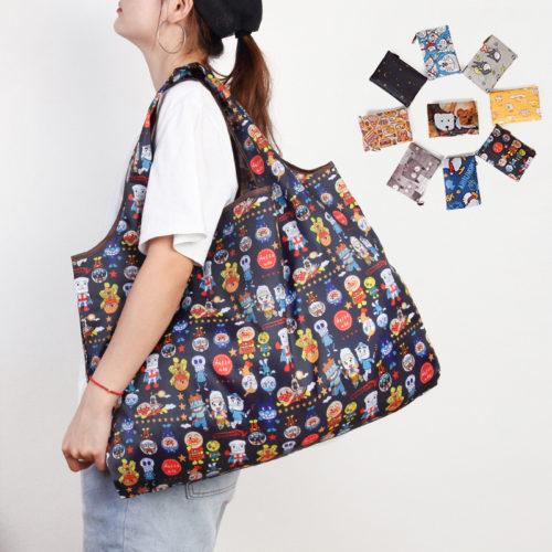 Foldable Tote Bag Reusable Shopping Bag