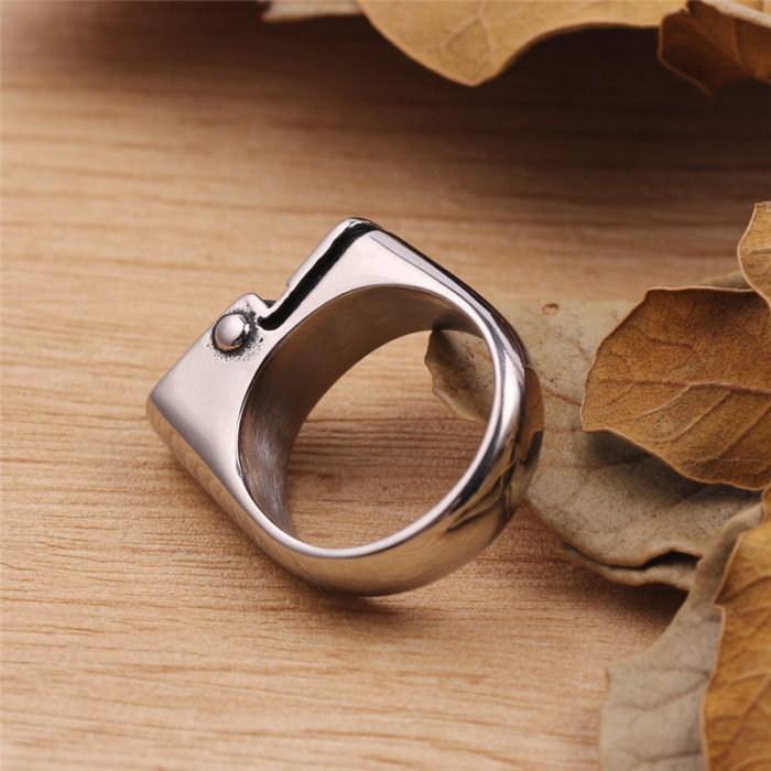 Lighter Ring Gift for Smokers
