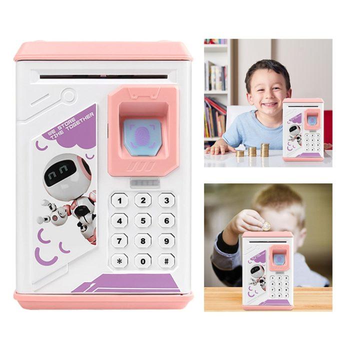 Electronic Money Saving Box for Kids