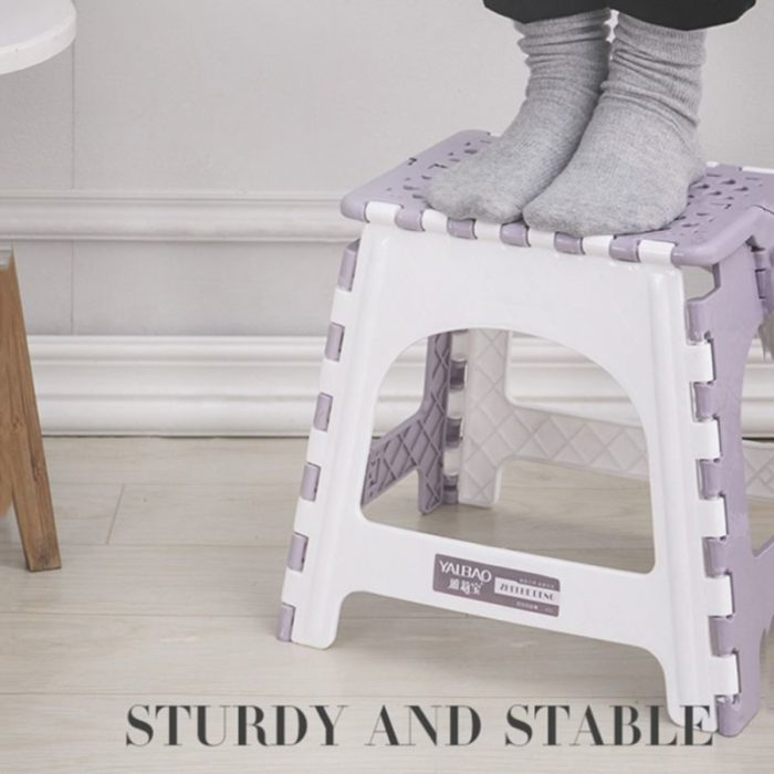 Plastic Step Stool Folding Chair