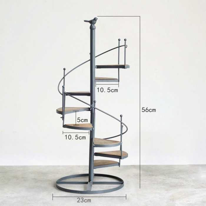 Small Plant Stand Stairs Shape