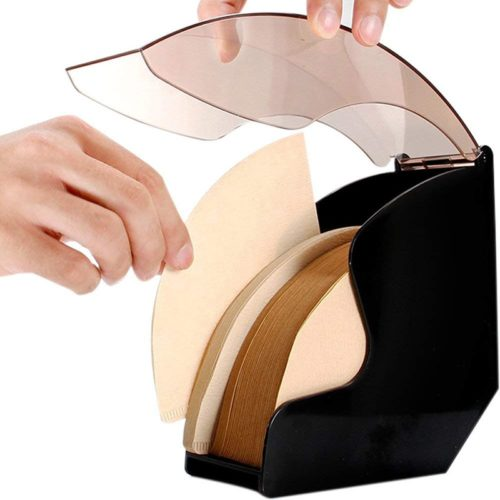 Coffee Filter Holder Plastic Container