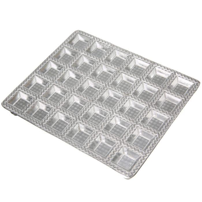 Ravioli Maker 30-Slot Aluminum Mold