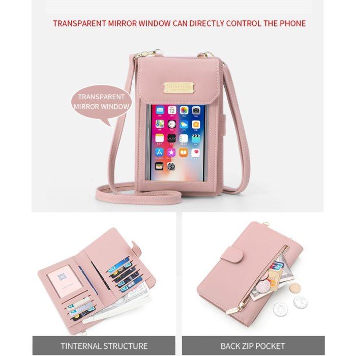 Touch Screen Purse Wallet Bag