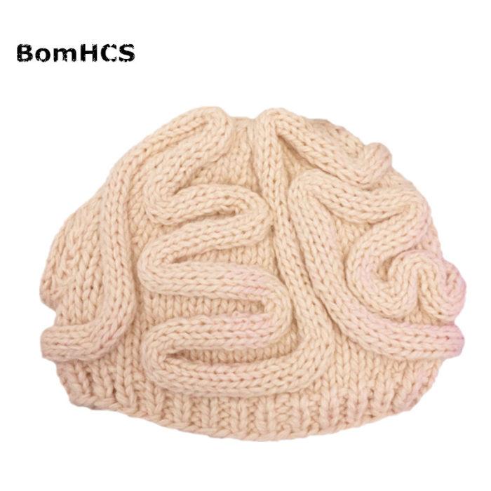Brain Hat Funny Winter Bonnet