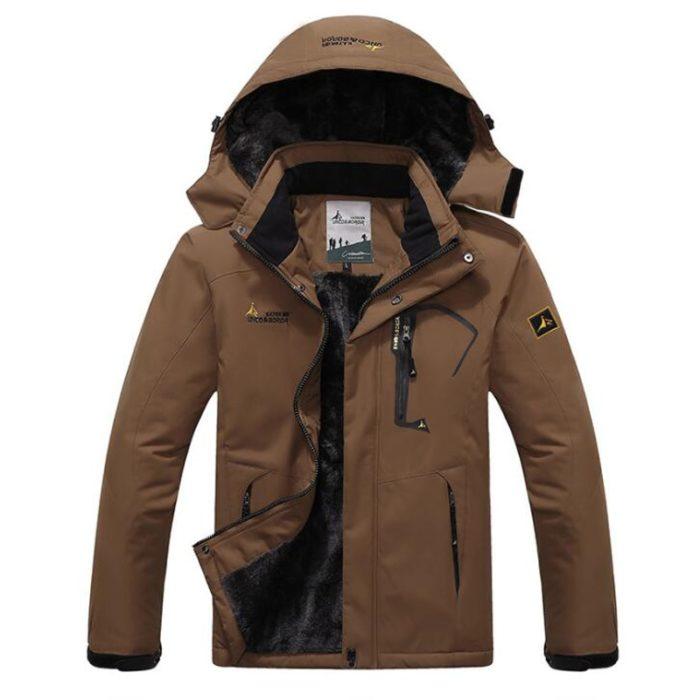 Mens Waterproof Parka Winter Jacket