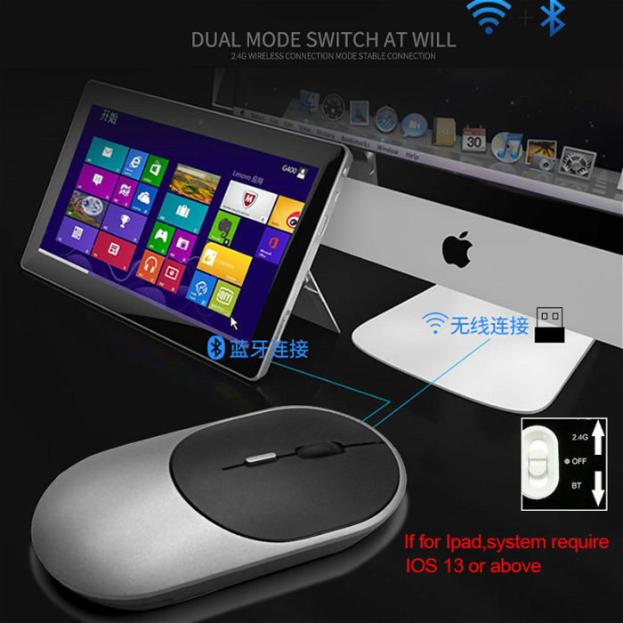 Rechargeable Mouse Bluetooth Mouse