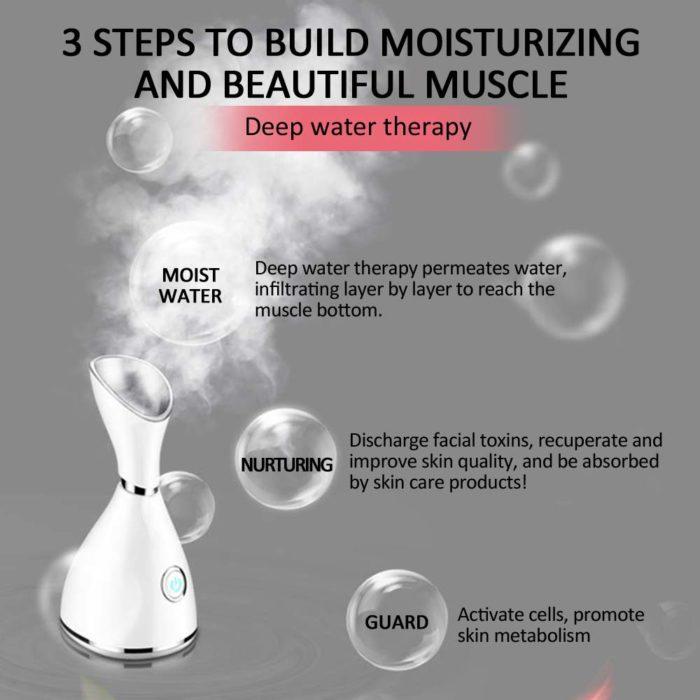 Face Humidifier Nano Facial Steamer